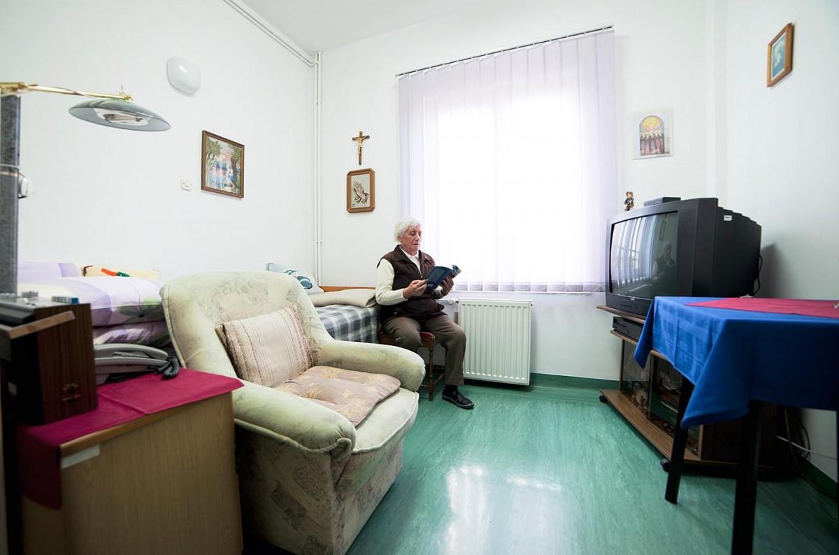 Jednokrevetna soba - stambeni dio