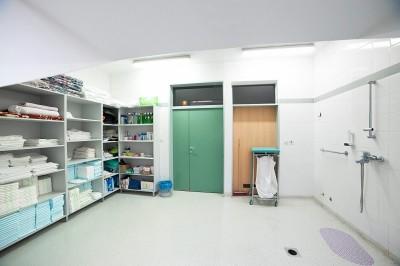 Badezimmer – stationäre Pflege